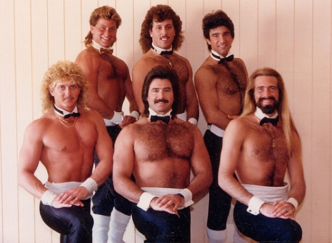 Super Cheesy Photos Of Male Chippendales Dancers From The