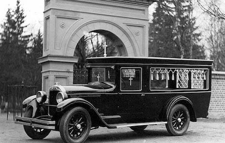 Vintage hearse, Finland 1930s