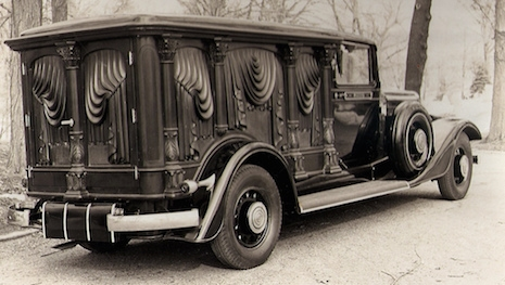 Funeral home Sayers & Scovill Olympian Hearse, 1934