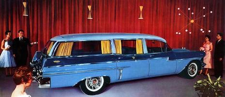956 Cadillac Meteor Crestwood Landau Panoramic Hearse