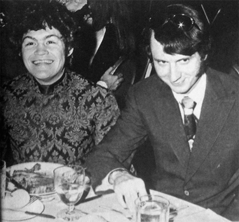 Micky Dolenz and Michael Nesmith of the Monkees at the Grammy Awards, 1968
