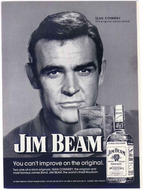 Sean Connery for Jim Beam, 1974