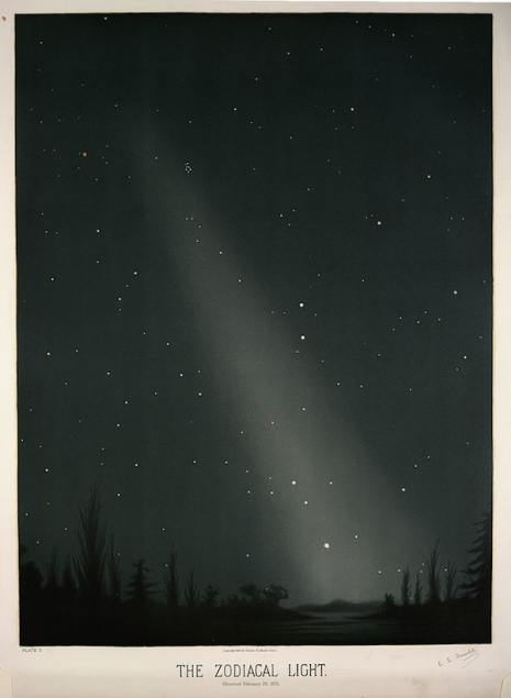 Maps to the Stars: Beautiful astronomical drawings from the 19th century  1zodiaclight_465_635_int