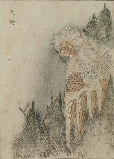 Weird monsters of Japanese folklore  24Tengu_465_649_int