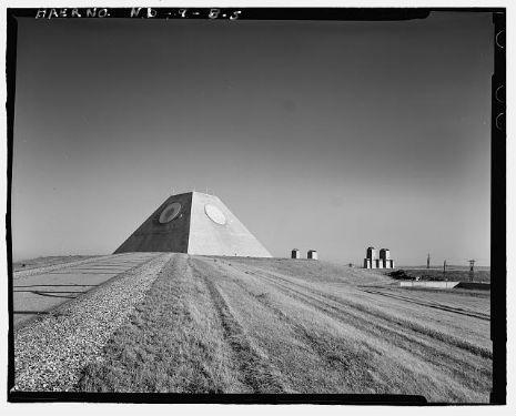 Did the Illuminati build a secret defense pyramid in North