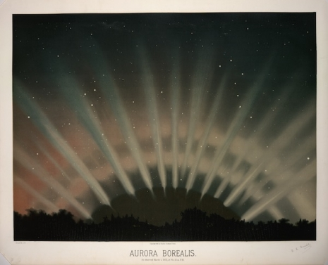 Maps to the Stars: Beautiful astronomical drawings from the 19th century  4auroraborealis_465_377_int