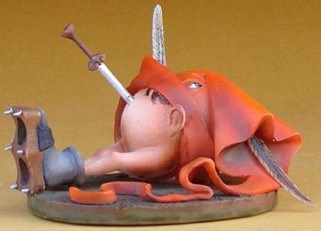 Collectable Hieronymous Bosch Figurines Artes & contextos 51BgkEvahqL 465 334 int