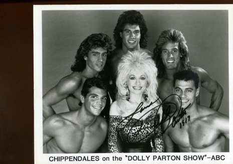 Super cheesy photos of male Chippendales dancers from the 1980s   Dangerous  Minds
