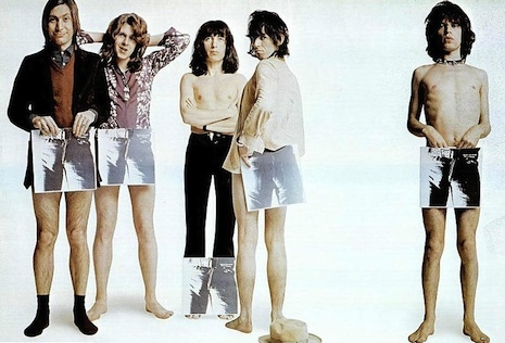Rolling Stones, Sticky Fingers promo shoot