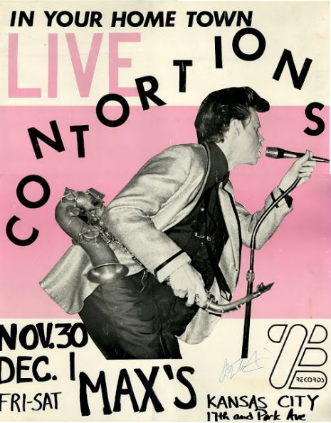 Great Poster for a Contortions Show