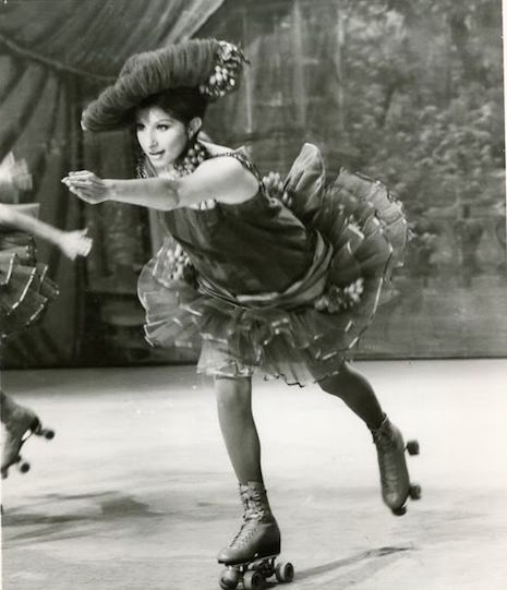 Barbra Streisand in the 1968 film, Funny Girl