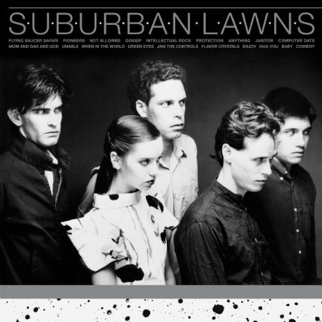 Cover Art for the Re-Release of Suburban Lawns' Debut