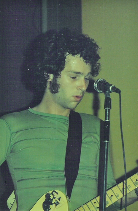 Chris Bell on stage
