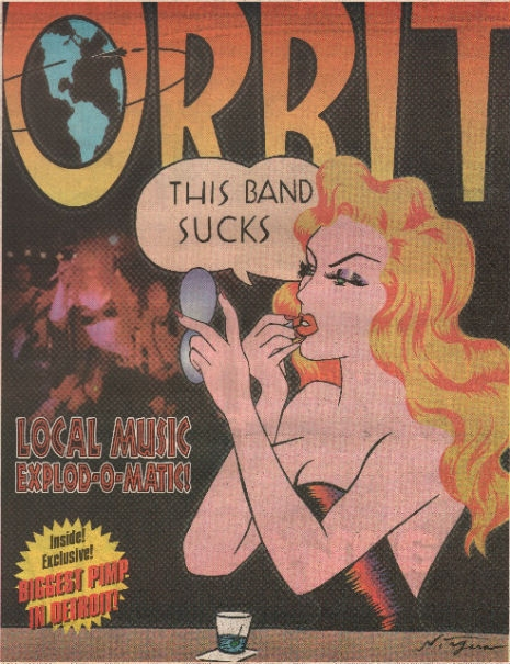 Niagara Detroit designed cover for The Orbit