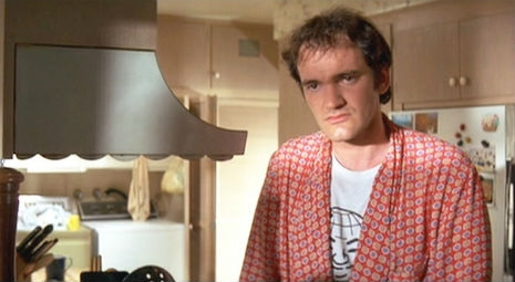 Quentin Tarantino in Orby Tee in Pulp Fiction