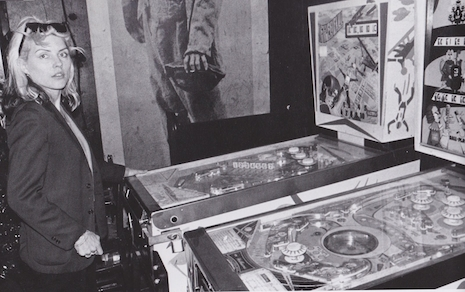 Debbie Harry Playing Pinball