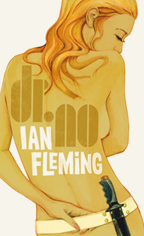 A print of the 2008 cover for the reissue of Ian Fleming's 1958 novel, Dr. No