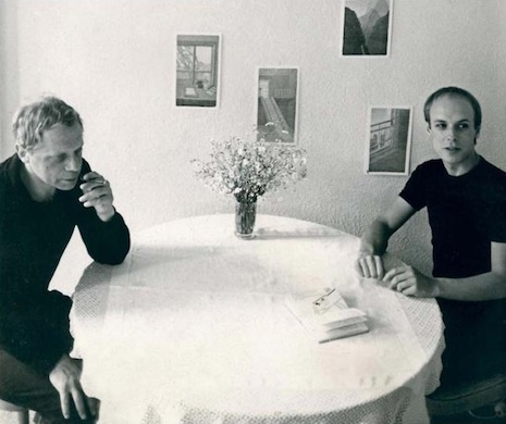 Peter Schmidt and Brian Eno