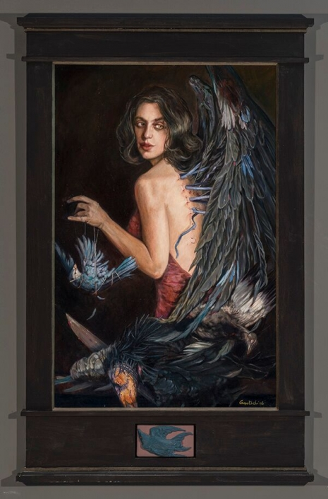 Lustful and lush paintings depicting 'The Seven Deadly Sins' by Gail Potocki Artes & contextos Envy DM 465 706 int
