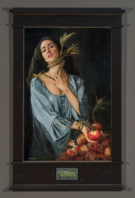 Lustful and lush paintings depicting 'The Seven Deadly Sins' by Gail Potocki Artes & contextos Gluttony DM 465 684 int