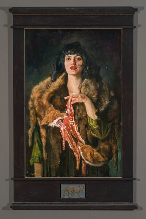 Lustful and lush paintings depicting 'The Seven Deadly Sins' by Gail Potocki Artes & contextos Greed DM 465 698 int
