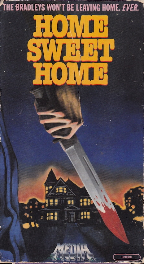 Home Sweet Home VHS box cover