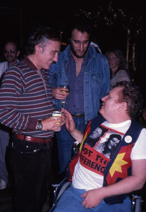 Bill Nirenberg, Dennis Hopper & Larry Flynt