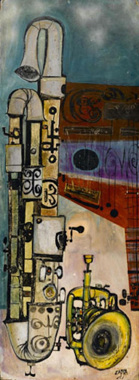 Wowie Zowie: The early beatnik-style artwork of Frank Zappa  Horny_1961_465_1264_int