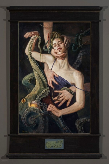 Lustful and lush paintings depicting 'The Seven Deadly Sins' by Gail Potocki Artes & contextos Lust DM 465 698 int