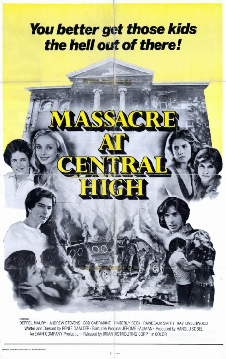 Poster art of Massacre at Central High.