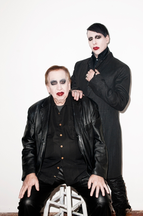 Marilyn Manson and Hugh Warner