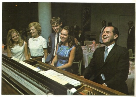 Nixon at the keys