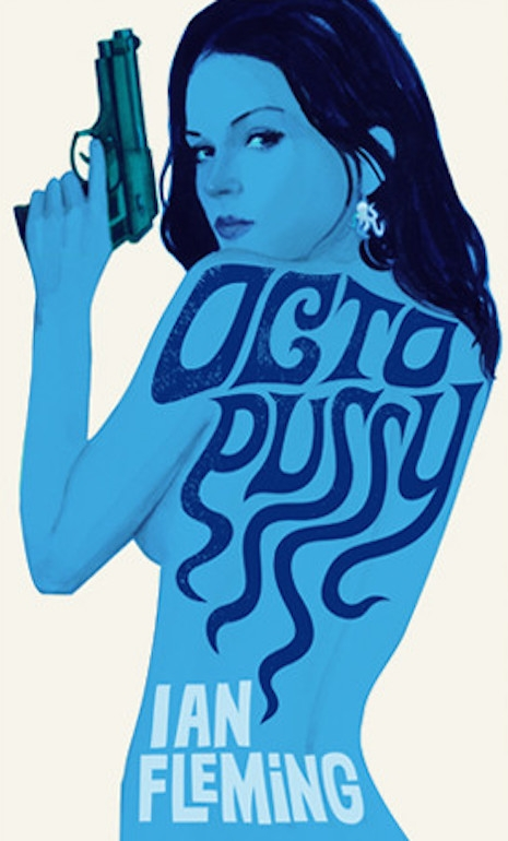 The 2008 cover for the reissue of Ian Fleming's 1966 novle, Octopussy and the Living Daylights