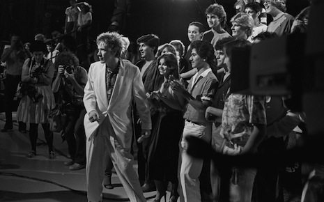 John Lydon and the audience