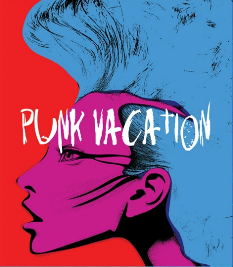 New Cover Art for Vinegar Syndrome's Punk Vacation