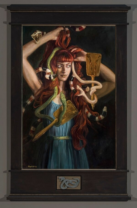 Lustful and lush paintings depicting 'The Seven Deadly Sins' by Gail Potocki Artes & contextos Pride DM1 465 706 int