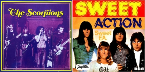 Scorpions Sweet collage