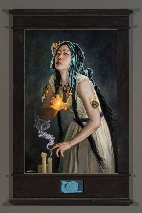 Lustful and lush paintings depicting 'The Seven Deadly Sins' by Gail Potocki Artes & contextos Sloth DM 465 694 int