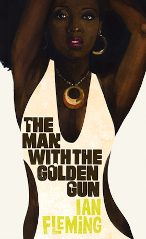 The 2008 cover for the reissue of Ian Fleming's 1965 novel, The Man with the Golden Gun