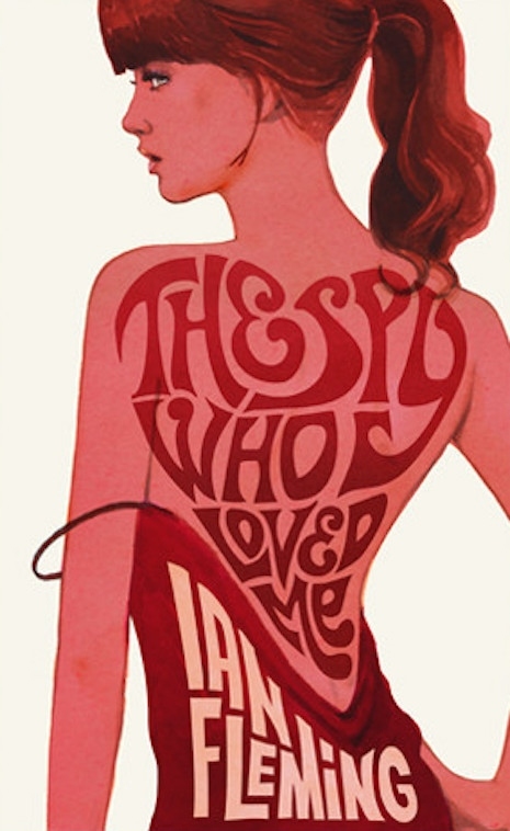 The 2008 cover for the reissue of Ian Fleming's 1962 novel, The Spy Who Loved Me