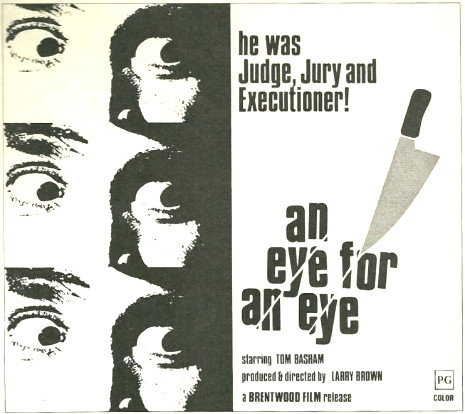 Poster Art for The Psychopath aka Eye for an Eye