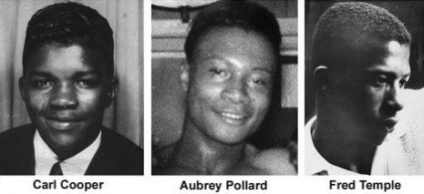 The three teens killed at the Algiers Motel