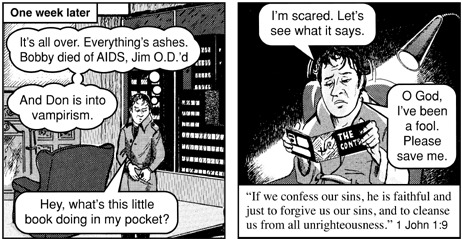 angels chick tract