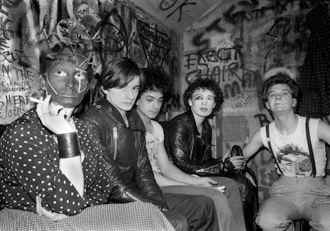 Adam and the Ants (with Jordan) at The Marquee, 1977