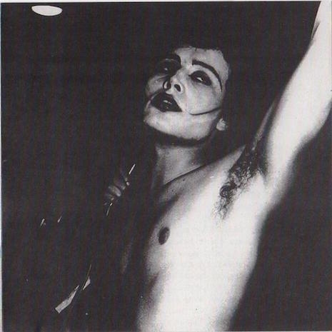 Adam Ant, super goth, 1977