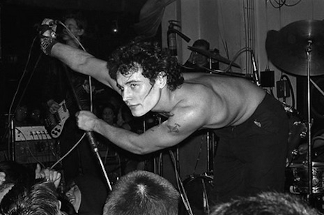 Adam Ant at the Vortex, 1977
