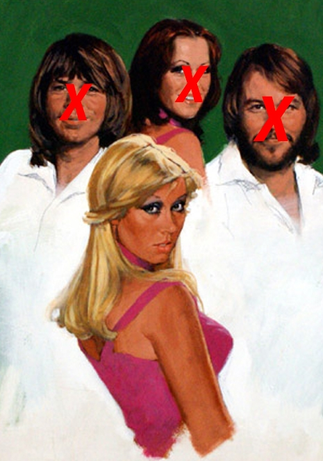 Agnetha Portraits - Saturday Morgen Cartoons