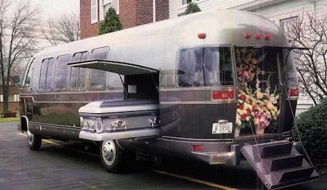 Airstream funeral