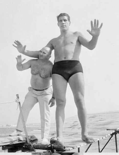 André the Giant in the French Riveria, 1967 (age 21)
