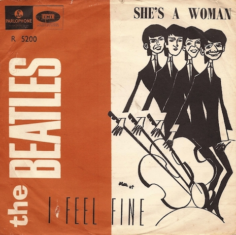 Beatles picture sleeve